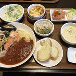 パスタ ヴィータ - 料理写真:ワンプレートディナー  1,834円