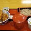 そば処 丸松 - 料理写真:2018年6月 天丼ミニそばセット(1100円)