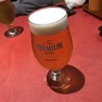 池袋 大人のハンバーグ - ビール