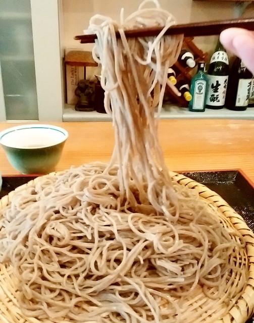 蕎麦倶楽部 佐々木 - 蕎麦倶楽部 佐々木@松本 とろろそばの蕎麦