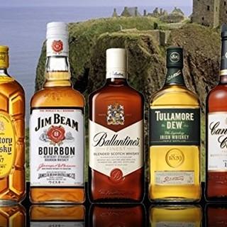 ◆世界の5大ウイスキーが飲み放題&豊富な飲み放題プラン◆