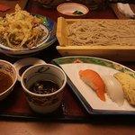 877698 - 寿司かき揚げセット