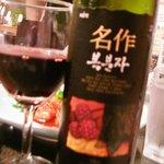 銀座苑 - 中国のワイン。あ、あま~~~~い。