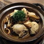 覇王樹 さぼてん本店 - 牡蠣和風アヒージョ \580