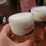 Ryoushidiyasakurajima - おビールは氷点下ドライ
