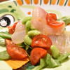 ピッツェリア・エ・バール・レガーメ - 料理写真:鯛っぽいお魚、魚醬の薫香がほんのり