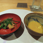 馳走 陽雅 - 椎茸・山菜など