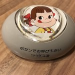 fujiyaresutoran - 呼び鈴もペコちゃん♡