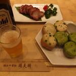 鵬天閣 - 二色生煎包、秘制叉焼