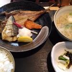 磯一 - 焼魚定食 850円(18年2月)