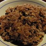 黒豚庵 - 黒飯
