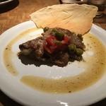 セアダスフラワーカフェ - 骨付きイベリコ豚の煮込み