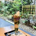 87711614 - 紫陽花パフェ