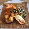 ブルー・ド・ロワ - 料理写真:お野菜がたっぷり♬美味しいガレットd(^_^o)