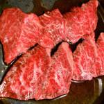 焼肉ホルモンブンゴ - 上ロース