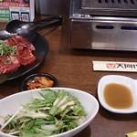 大同門 京橋店 - ハラミとテッチャンのランチ