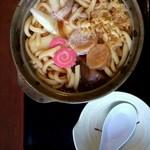 みのり(季) - 鍋焼きうどん…