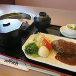 西神飯店 - 料理写真:1日限定10色のデミタンバーグ定食1100円(税別)