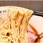 RAMEN にじゅうぶんのいち - 風味も食感もバツグンの麺。