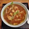 角丸 - 料理写真:カレー中華とり肉Ver