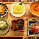 山介 - 前菜6種