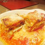 グラッポロ - 米茄子とチーズのオーブン焼き