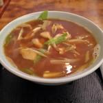 角丸 - カレー中華とり肉Ver
