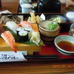 産直鮮魚寿司炉端 源ぺい - 彩り膳