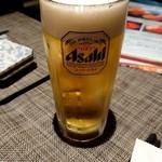 87720072 - 生ビール(スーパードライ)580円