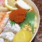 祇園 - とびっ子、蒲鉾、甘い栗
