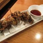 居酒屋SANUFA - もずくの天ぷら