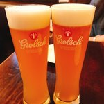 アイリッシュパブ・スタシェーン - ヴァイツェンで乾杯♪(*^^)o∀*∀o(^^*)♪