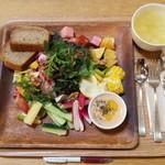 87723760 - オトワファーム直送野菜のコブサラダ 1600円