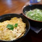 うどん大文字 - 料理写真:たまご丼セット