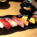 87725580 - 寿司定食