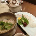 鳥の巣 - 『鯛茶漬け』980円