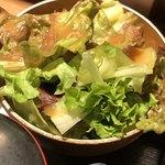 さ竹 - 野菜サラダ