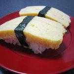本玉小島 - 自宅で寿司型で作った玉子焼きの握り