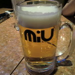 美羽 - 生ビール