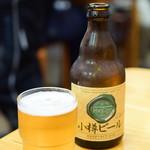 北のどんぶり屋 滝波食堂 - 小樽 地ビール@値段失念
