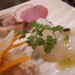 87730878 - 真鯛のカルパッチョが新鮮