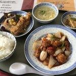 華中 - 酢豚定食¥1,000