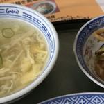 華中 - 玉子スープ