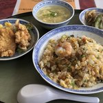 華中 - 焼き飯定食¥1,000