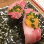 博多筑紫口 肉寿司 - ウニとろ軍艦