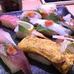 さんきゅう水産 - 握りが10貫(2018.6.17)