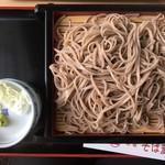 新宿 そば蔵 - 大もり(600円、税別)