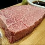 仙台牛一頭買い焼肉 明月苑 - シャトーブリアン(2018.01)