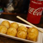 だいげん - ピザボール + コカ・コーラ 600円
