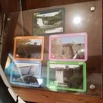 うなぎの三河 - 羽布ダムカードにもたくさん種類があるらしい